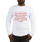Prayer3 Long Sleeve T-Shirt