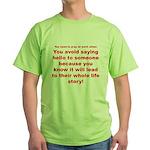 Prayer3 Green T-Shirt