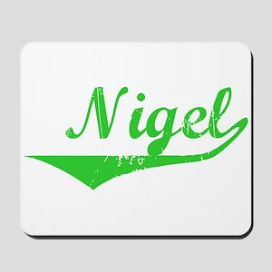 Nigel Vintage (Green) Mousepad