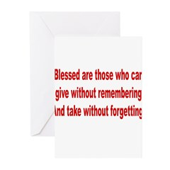 Blessed are those Greeting Cards (Pk of 10)