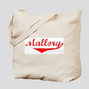 Mallory Vintage (Red) Tote Bag