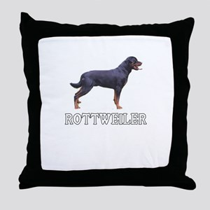Rottweiler Throw Pillow