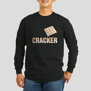 Cracker Long Sleeve Dark T-Shirt