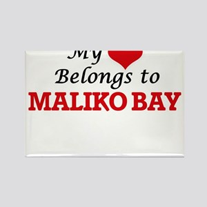 My Heart Belongs to Maliko Bay Hawaii Magnets