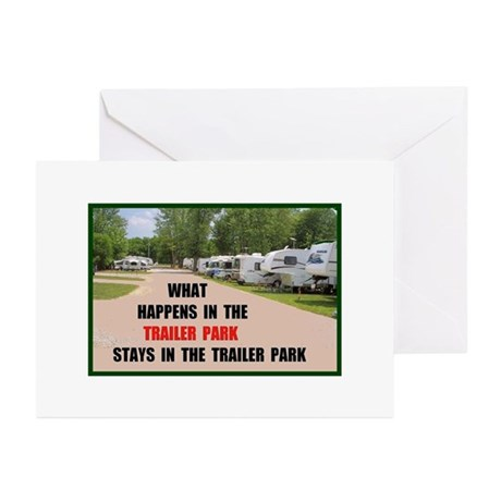 TRAILER PARK Greeting Cards (Pk of 10)