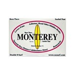 Monterey Surf Spots Rectangle Magnet (100 pack)