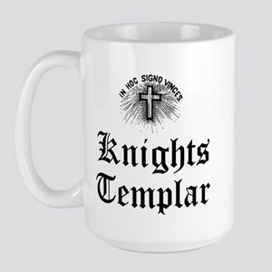 Knights Templar Holy Cross Large Mug