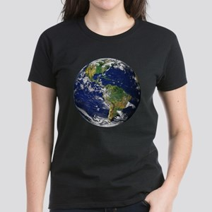 Planet Earth Women's Dark T-Shirt