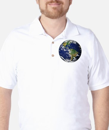 Planet Earth Golf Shirt