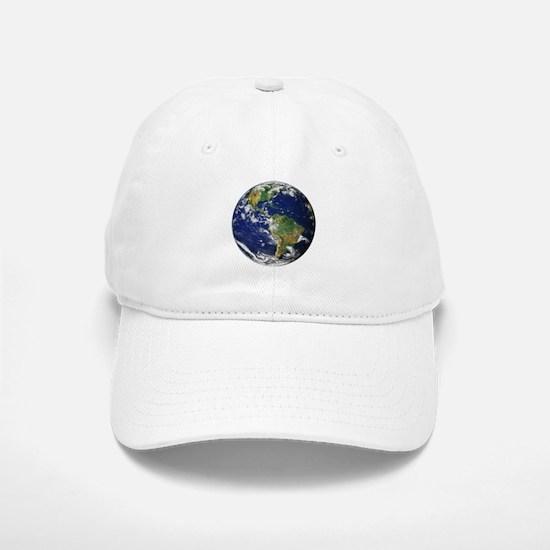 Planet Earth Baseball Baseball Cap