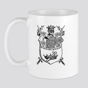 Knights Templar Shield 2 Mug