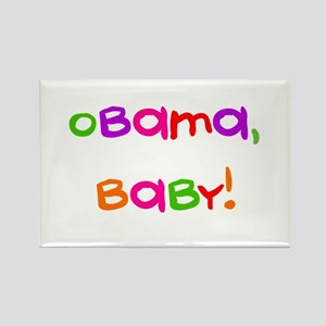 Obama, Baby! Rectangle Magnet