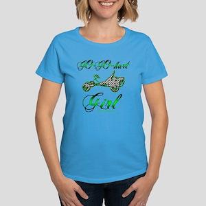 Go-Go-Kart Girl Women's Dark T-Shirt