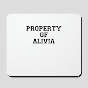 Property of ALIVIA Mousepad