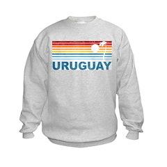 Retro Uruguay Palm Tree Sweatshirt