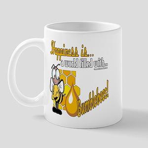 Happiness is a Bumblebee Mug