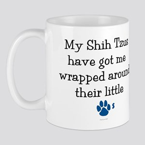 Wrapped Around Their Paws (Shih Tzu) Mug