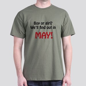 Boy or Girl: May Dark T-Shirt
