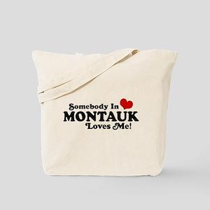 Somebody In Montauk Loves Me Tote Bag