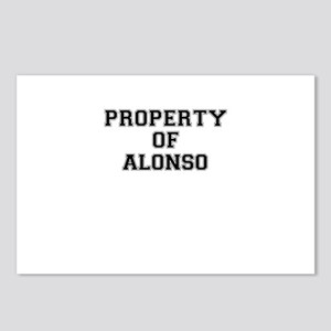 Property of ALONSO Postcards (Package of 8)