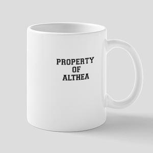 Property of ALTHEA Mugs