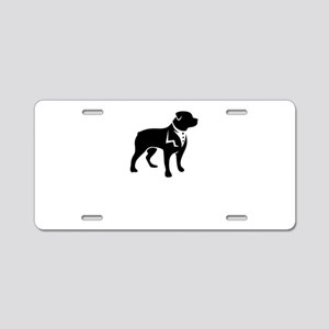 handsome dog Aluminum License Plate