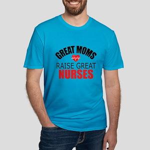 Moms Raise Nurses Men's Fitted T-Shirt (dark)