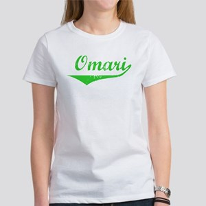 Omari Vintage (Green) Women's T-Shirt