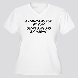 Pharmacist Day Superhero Night Women's Plus Size V