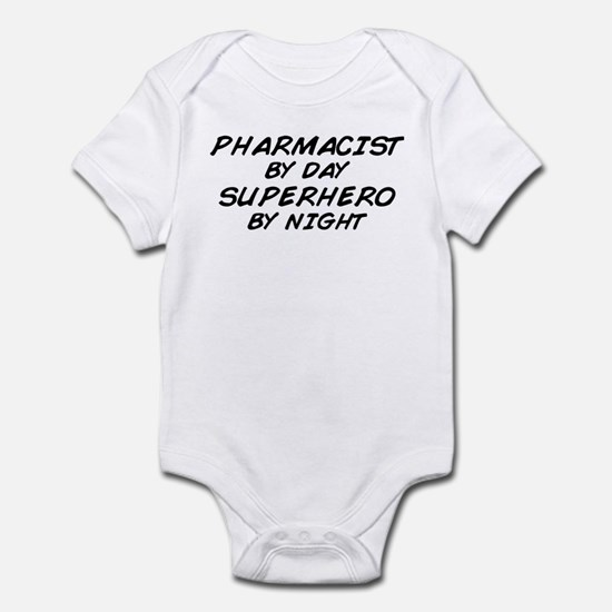 Pharmacist Day Superhero Night Infant Bodysuit