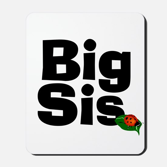 Big Sister Ladybug Mousepad