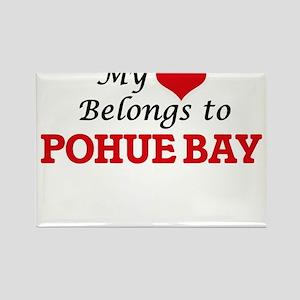 My Heart Belongs to Pohue Bay Hawaii Magnets