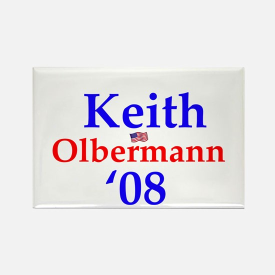 Unique Keith olbermann Rectangle Magnet