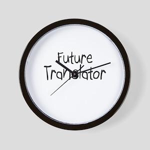 Future Translator Wall Clock