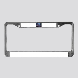 Spacey Seattle License Plate Frame