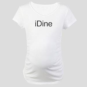 iDine Maternity T-Shirt