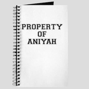 Property of ANIYAH Journal