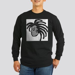 Locs Long Sleeve Dark T-Shirt
