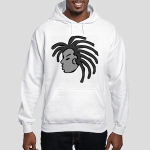 Locs Hooded Sweatshirt