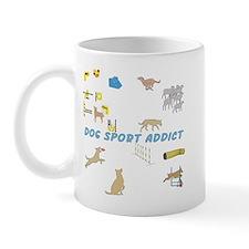 Dog Sport Addict Mug