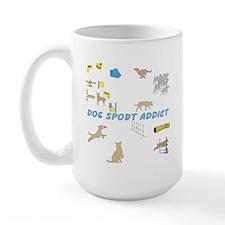 Dog Sport Addict Large Mug