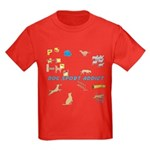 Dog Sport Addict Kids Dark T-Shirt