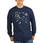 Dog Sport Addict Long Sleeve Dark T-Shirt