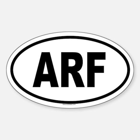 ARF Oval Decal