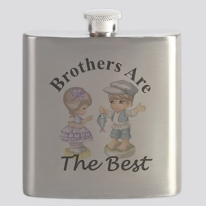 Brothers Are The Best Flask