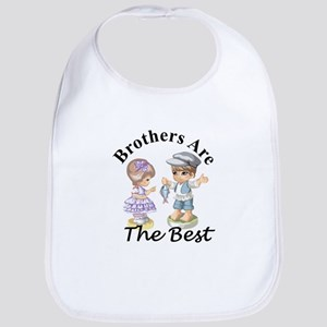 Brothers Are The Best Bib
