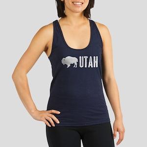 Bison: Utah Racerback Tank Top