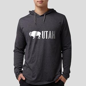 Bison: Utah Mens Hooded Shirt