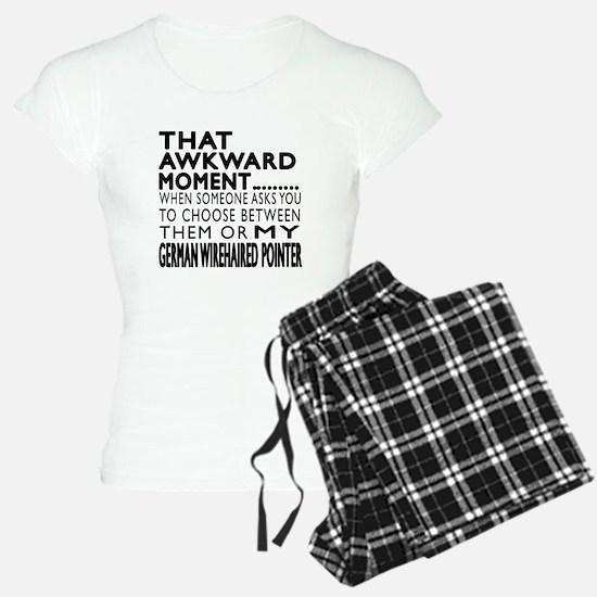 Awkward German Wirehaired P Pajamas