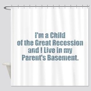 Parent's Basement Shower Curtain